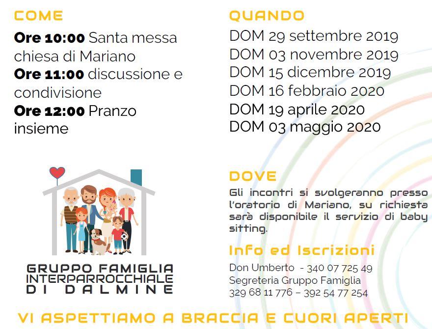 Calendario Liturgico Mariano 2020.Parrocchia E Oratorio San Giuseppe Dalmine Bg Il Sito